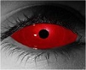 Red Sclera Theatrical Contact Lenses