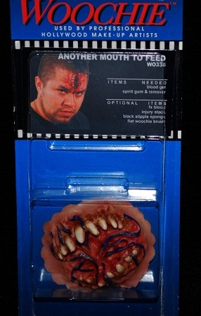 """Another Mouth"" Prosthetic Makeup FX  Appliance"