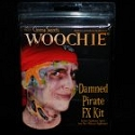 Damned Pirate Makeup FX Kit