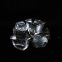 Breakable Floating Rubber Ice Cubes, 6pk