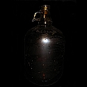 Moonshine Jug One Gallon - Dark Brown