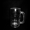 Beer Mug Bottom ridged