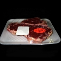 Packaged T-Bone Steak