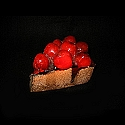 3 Chocolate Cherry Cheesecake Slices Daily Rental