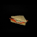 6 Smoked Salmon Mini Sandwich