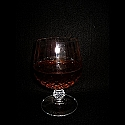 3 Brandy in Snifter Glasses Daily Rental