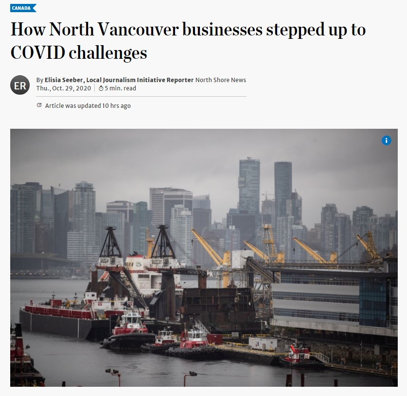 How North Vancouver businesses stepped up to COVID challenges