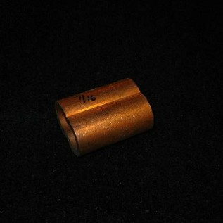 "7/16"" Copper Nicopress Sleeve"