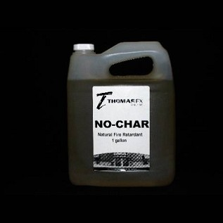 No-Char Natural Fire Retardant 1gal