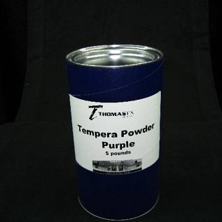Tempera Powder, Purple 5 lbs