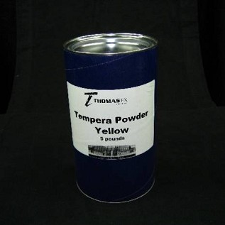 Tempera Powder, Yellow 5 lbs