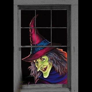 Feeny the Witch Window Covering