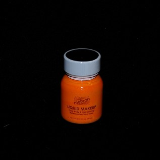 Mehron Orange Liquid Makeup 1 oz