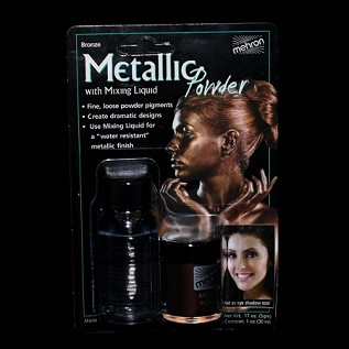 Bronze Metallic Powder w/ Mixing Liquid