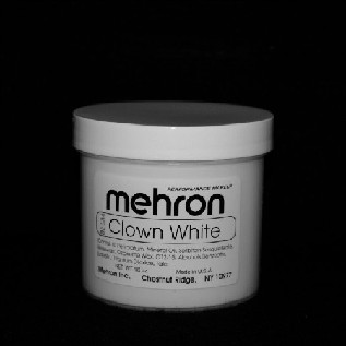 Mehron Clown White 16 oz