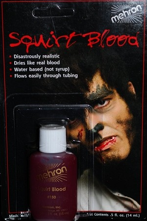 Mehron Bright Arterial Squirt Blood .5 oz
