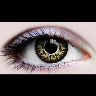 """Marron"" Halloween Contact Lenses"
