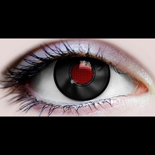 """Terminator II"" Halloween Contact Lenses"