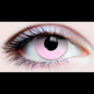 """Cotton Candy"" Halloween Contact Lenses"