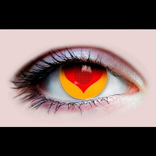"""Love Eyes"" Halloween Contact Lenses"
