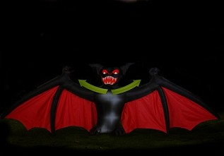 Scary Bat Open Wing Inflatable