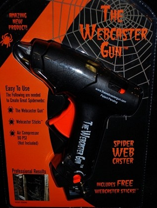 Webcaster Gun Cobweb Maker
