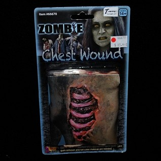 Zombie Chest Wound