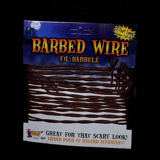 Rusted Barbed Wire, 12' section