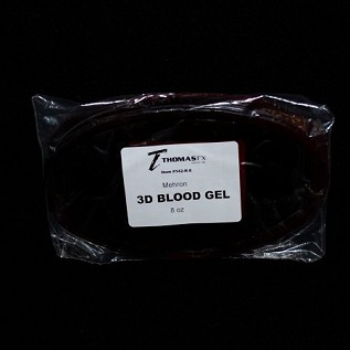 3-D Blood Gel Slab 8 oz