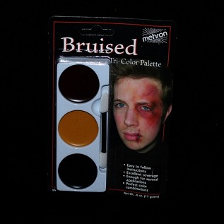Bruise Tri-Color Makeup Palette