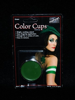 Mehron Green Greasepaint .5 oz