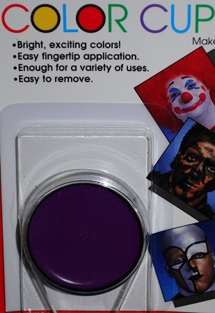 Mehron Purple Greasepaint .5 oz