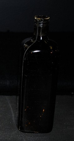 Medicine Bottle - brown