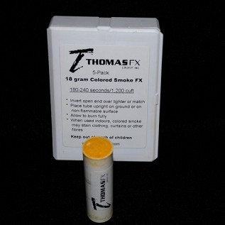 Thomas FX Non-toxic Yellow Smoke FX 18G
