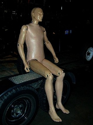 Articulated Rubber Male Dummy Daily Rental