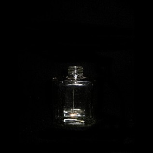 Apothecary - Fancy Perfume Bottle 2.5oz