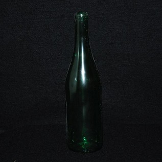 Long Neck Wine Bottle 11.75""
