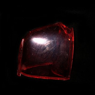 Cadillac Tail Light Cover Red
