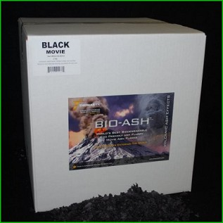 Biodegradable Volcanic Ash Black Movie BIO-ASH