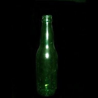 Long Neck Beer Bottle - Green