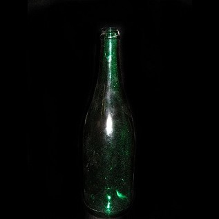 Champagne Bottle - Green