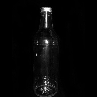 "Large ""Colt 45"" Beer Bottle - Clear"