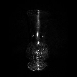 Vase - Crystal Flower 9.5""