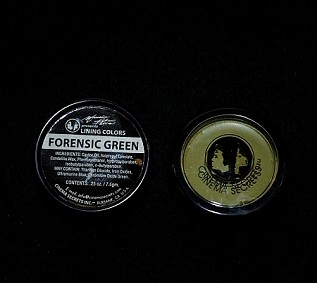 Forensic Green Cream Makeup