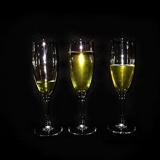 3 Champagne Drinks Daily Rental