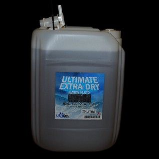 Ultratec Ultimate Extra Dry Snow Fluid  20L