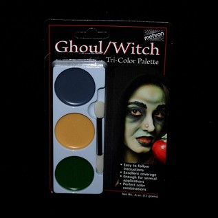 Ghoul & Witch Tri-Color Makeup Palette