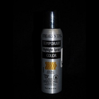 Streaks N Tips Gold Dust Hairspray 3.5 oz