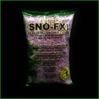 Biodegradable Sno-FX! ™ Purple Snow 4 qt bag