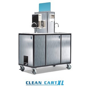 Stainless Steel PPE Clean Cart XL